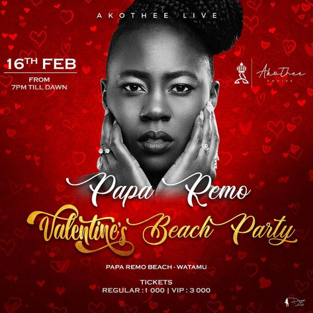 August 15th dinner and beach party at Papa Remo